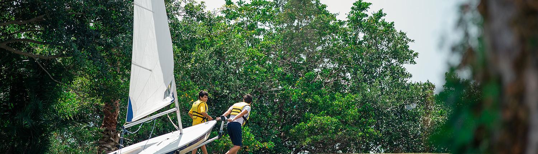 Boarding School Florida Admiral Farragut Academy Sailing